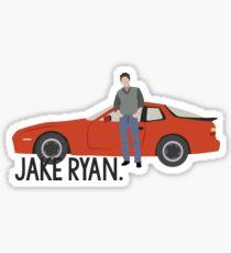 Pegatina Dieciséis velas - Jake Ryan
