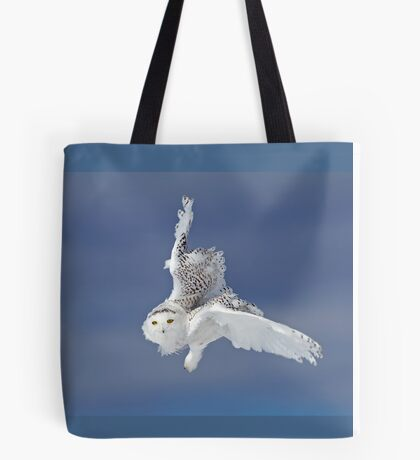Flight of the Snowy Owl  Tote Bag