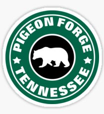 PIGEON FORGE TENNESSEE BEAR GREAT SMOKY MOUNTAINS GATLINBURG Sticker