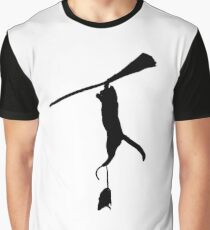 broomstick! Graphic T-Shirt