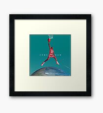 JUMPAN  Framed Print