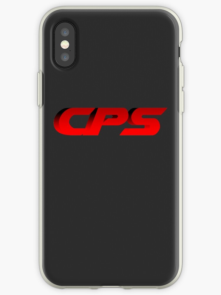 'CPS' iPhone Case by UKDxGFX