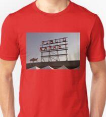 Seattle Public Market Sign T-Shirt