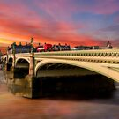 London Sunset by Adrian Evans