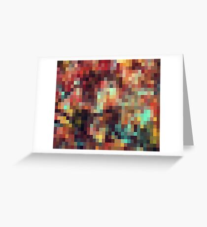 Nature Pixels No.11 Greeting Card