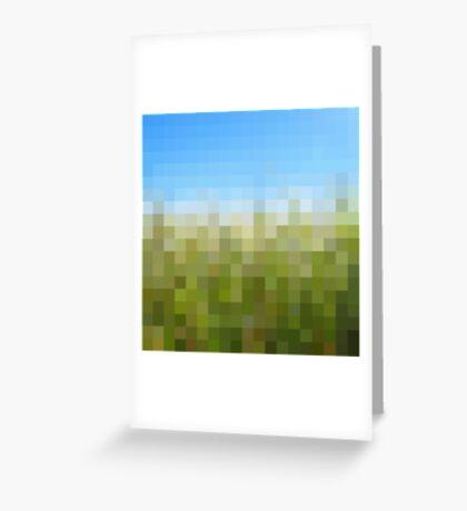 Nature Pixels No 29 Greeting Card