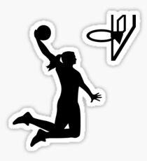 Basketball girl woman Sticker