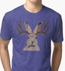 Jackalope Tri-blend T-Shirt