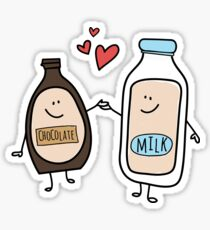 Pegatina Better Together, Chocolate Milk Love
