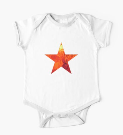 Flaming Star Kids Clothes