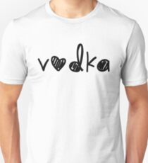 Cute Vodka Unisex T-Shirt