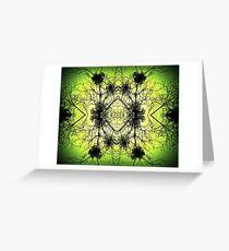 Intertwined Illumination  Greeting Card