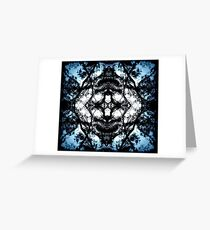 Abstraction of the Mind  Greeting Card