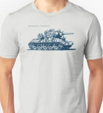 T-34 Russian Caravan Slim Fit T-Shirt