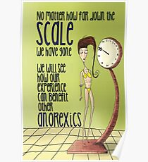 Anorexic Scale Poster