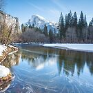 Half Dome Reflections - Yosemite National Park by Graham Gilmore