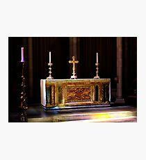 High Altar Photographic Print