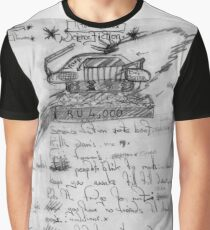 Science Fiction. Graphic T-Shirt