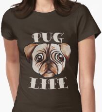 PUG LIFE Women's Fitted T-Shirt