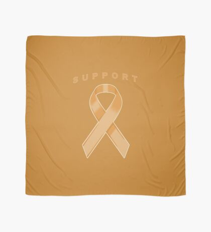Orange Awareness Ribbon of Support Scarf