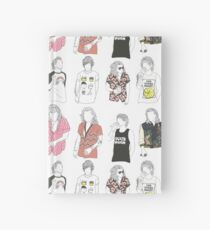 Larry Fashion Hardcover Journal