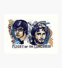 Flight of the Conchords Art Print