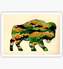 Buffalo Camo Sticker