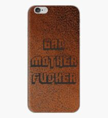 Vinilo o funda para iPhone BAD MOTHER FUCKER Cuero 2