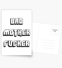 BAD MOTHER FUCKER 2 Postcards