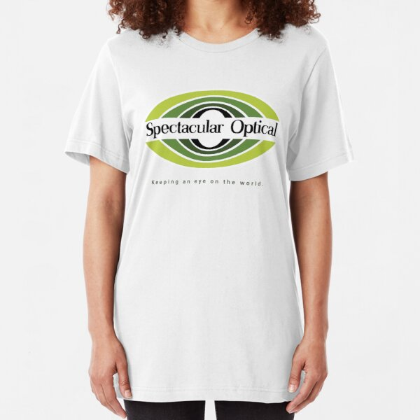 Spectacular Optical - Keeping an eye on the world Slim Fit T-Shirt