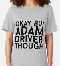 Adam Driver Slim Fit T-Shirt