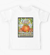 A Good Tomato is a Little Slice of Heaven Kids Tee