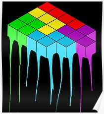 Tetris Melt 3 Poster