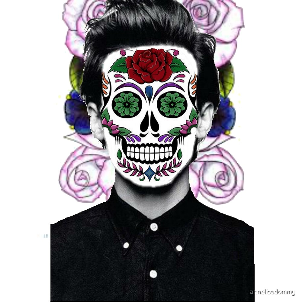 Sugar Skull Louis  by Annelise Dominello