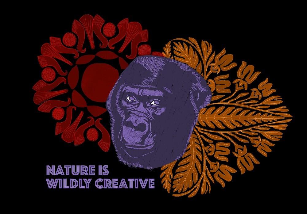Nature is wildly creative by GabianSpiritArt