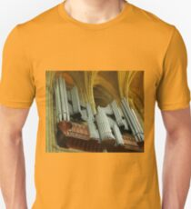 Organ Pipes, Truro Cathedral Unisex T-Shirt