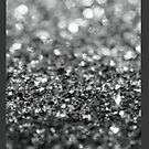 Abstract Silver Glitter by sullat04