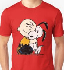 Snoopy and Charlie Soulmate Unisex T-Shirt