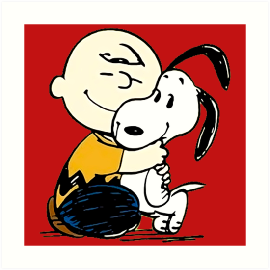 Snoopy and Charlie Soulmate by BangBangke