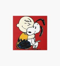 Snoopy and Charlie Soulmate Art Board