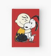 Snoopy and Charlie Soulmate Hardcover Journal