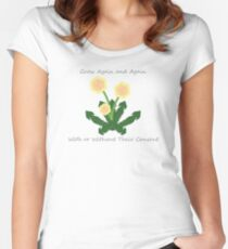 Larger version  Women's Fitted Scoop T-Shirt