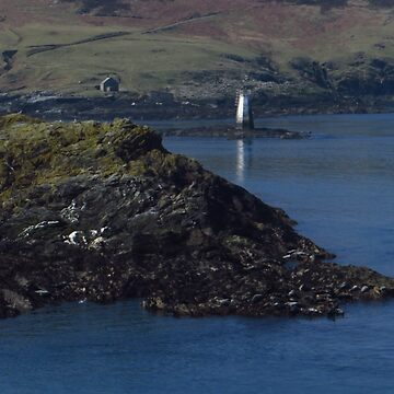Thousla Rock Beacon, Calf Sound  by wiggyofipswich