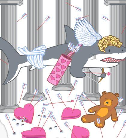 The Cupid Shark Sticker