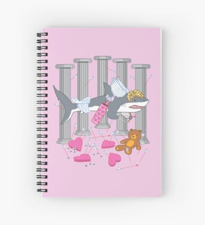 The Cupid Shark Spiral Notebook