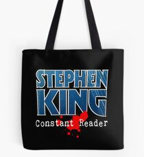 Stephen King Constant Reader Tote Bag