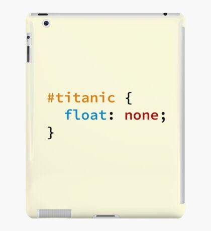 #titanic iPad Case/Skin