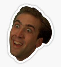 Pegatina Nicolas Cage