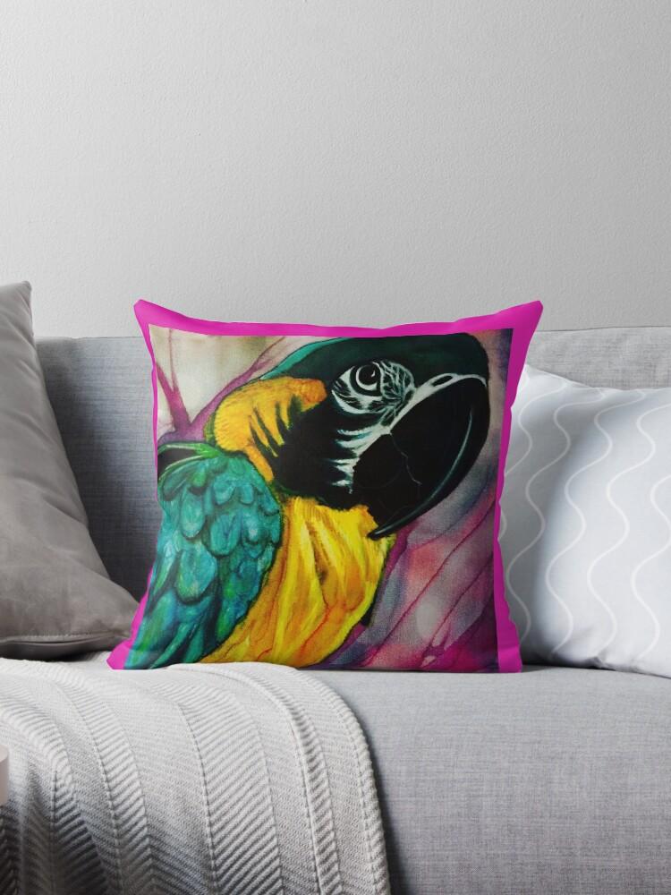 Macaw  by Pipsilk