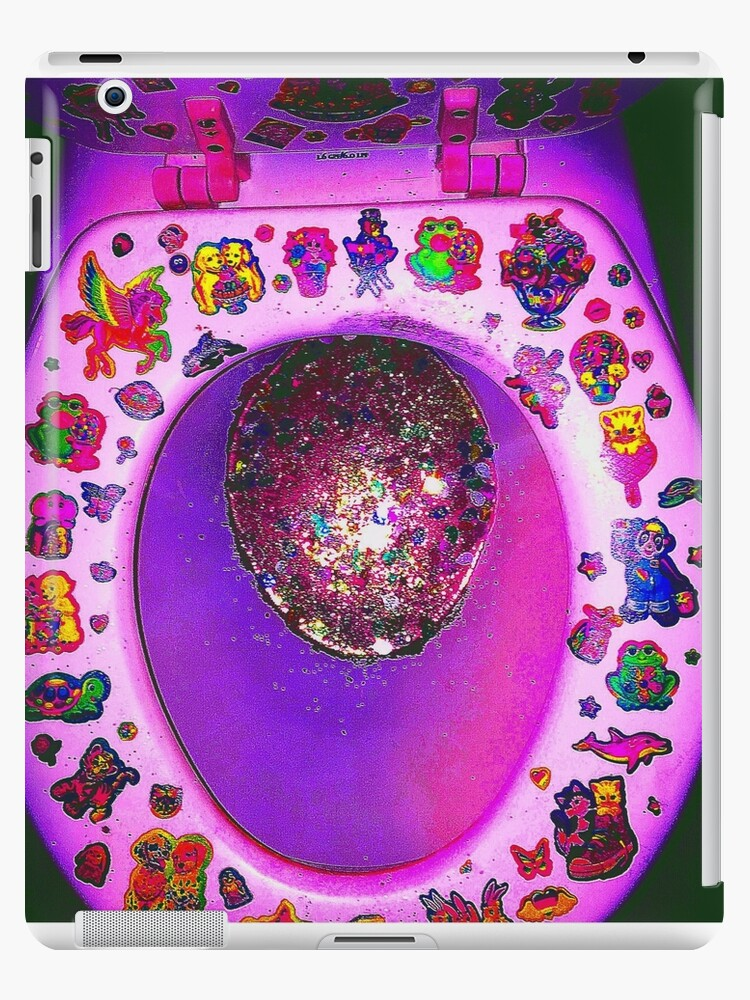 Sensational Lisa Frank Toilet Ipad Case Skin By Cara Bloom Gmtry Best Dining Table And Chair Ideas Images Gmtryco